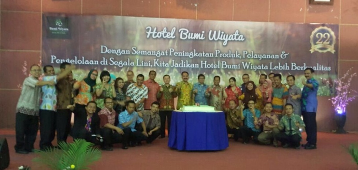 HUT Hotel Bumi Wiyata Ke 22th