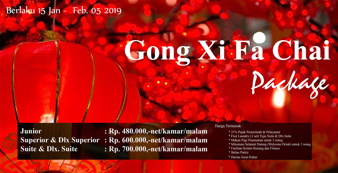 Gong Xi Fa Chai Room Packages 2019